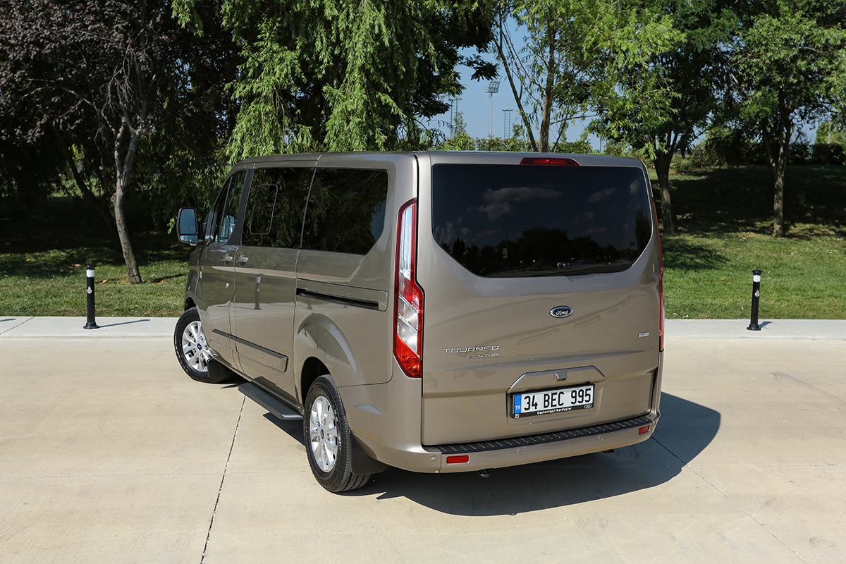 Ford Tourneo Custom test