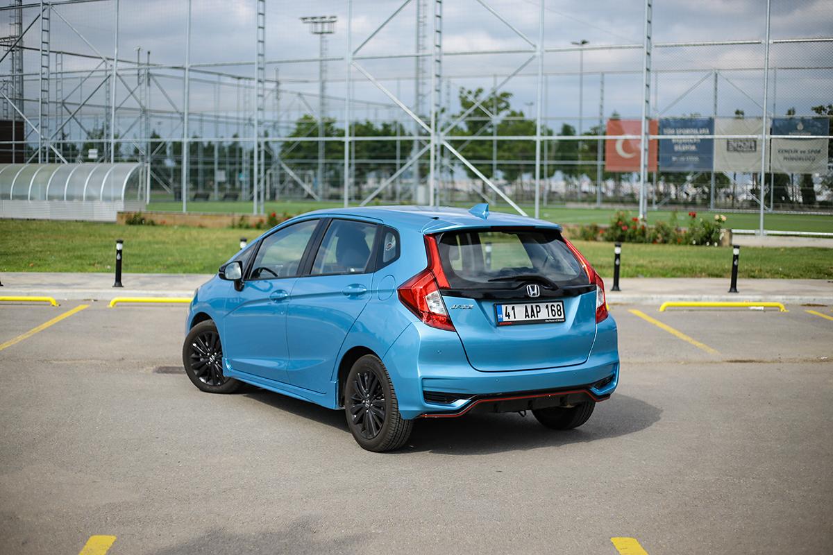 Honda Jazz test sürüşü