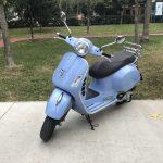 Şehrin sevimlisi: Vespa GTS 150