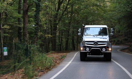 Efsane model Mercedes Unimog geri döndü