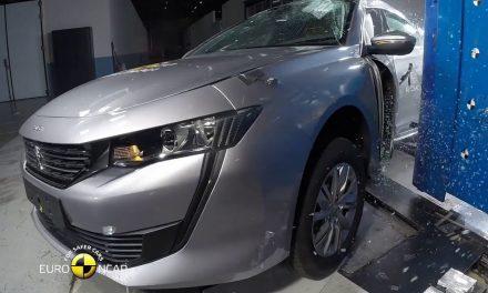 Peugeot 508 çarpışma testine girdi işte sonucu
