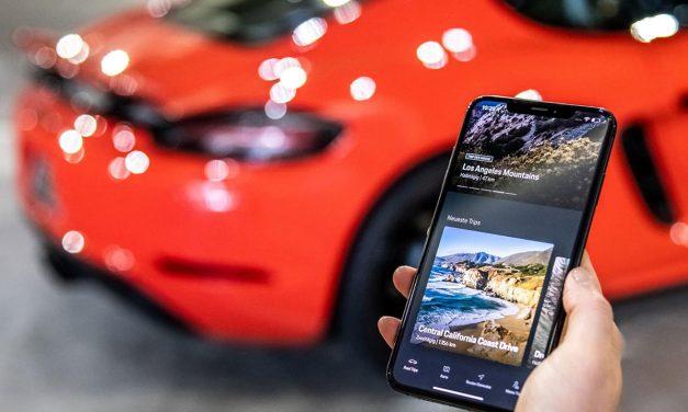 Porsche'nin yeni uygulaması en iyi sürüş rotalarını gösteriyor