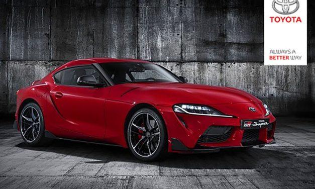 Toyota Supra'nın tanıtım görselleri yayınlandı