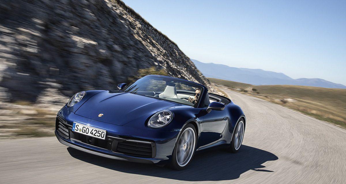 Coupe'den sonra 911'in Cabrio'su tanıtıldı