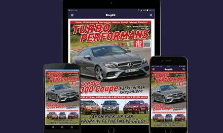 Turbo Performans Ocak – Şubat sayısı Turkcell Dergilik uygulamasında