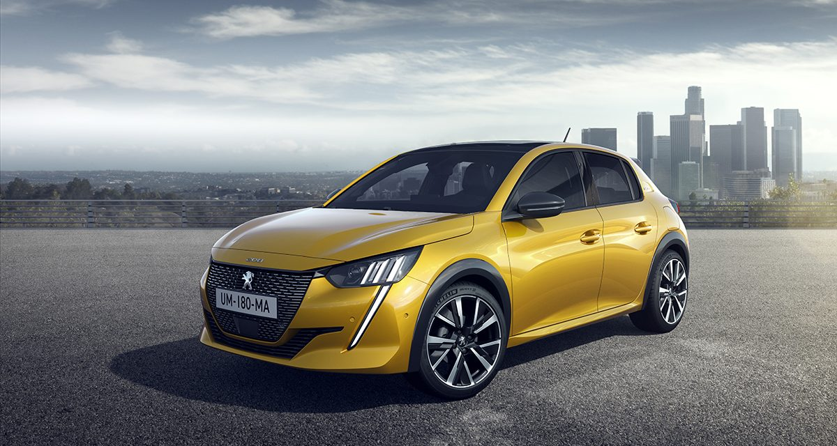 Peugeot yenilenen 208 modeli ile rakiplerine göz dağı veriyor