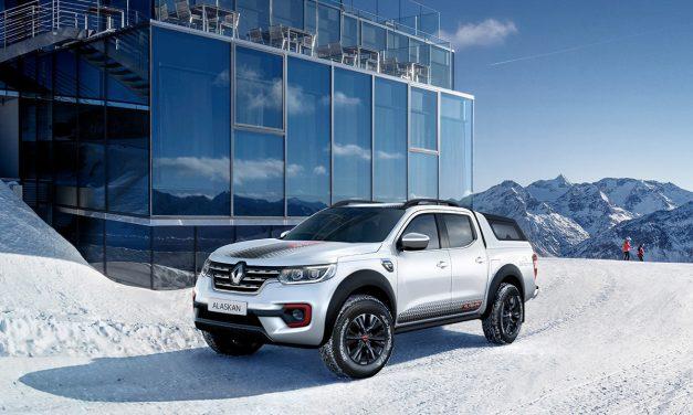 Renault Alaskan'nın özel versiyonu Alaskan Ice tanıtıldı