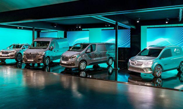 Renault'nun hafif ticarilerinden siz de elektrik alacaksınız
