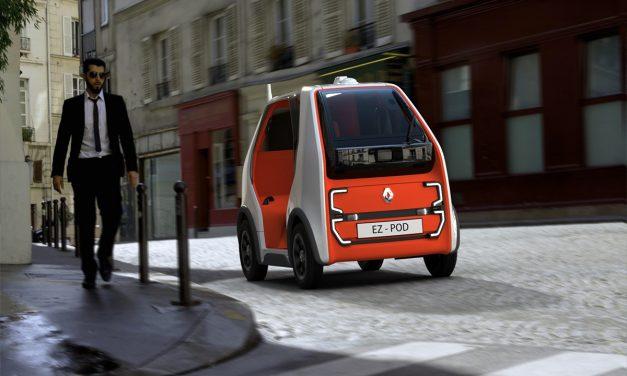 Renault EZ-POD ile daha hızlı ulaşım ve taşımacılık imkanı