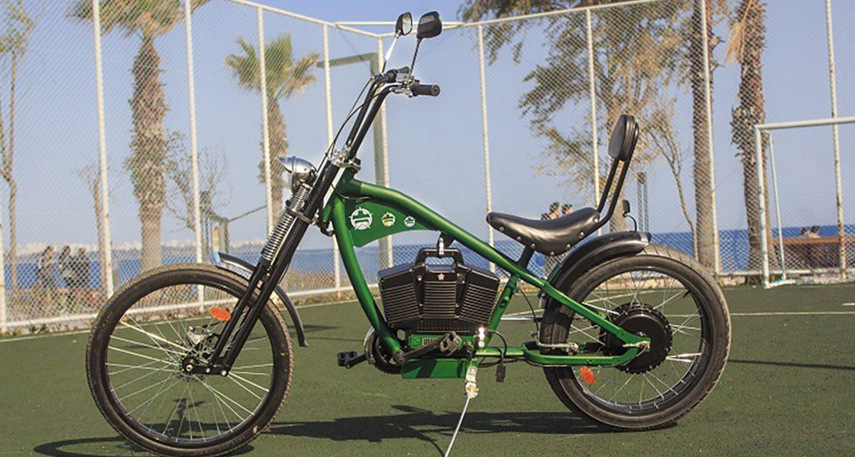 Çevreci ve sıra dışı bir elektrikli bisiklet