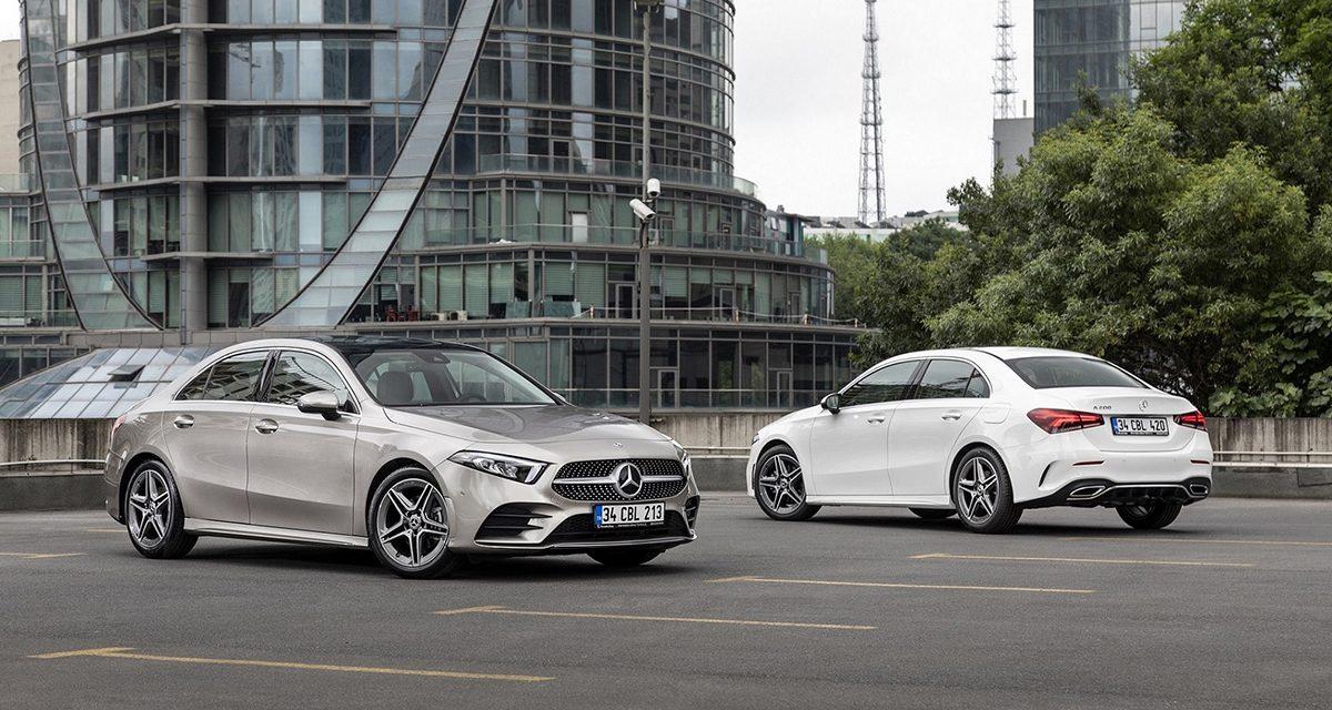 Mercedes A Sedan modeli ülkemizde satışa sunuldu