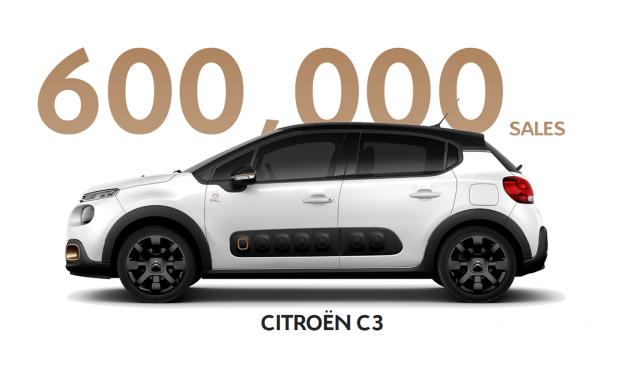 Güncel Citroen C3 modeli 2.5 yılda 600 bin sattı