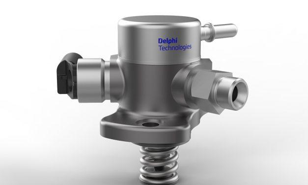 Delphi'nin 500+ bar enjektörleri yüzde 50 daha çevreci