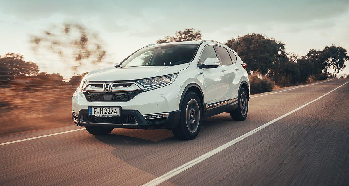 Honda CR-V Hybrid, Türkiye'ye geldi
