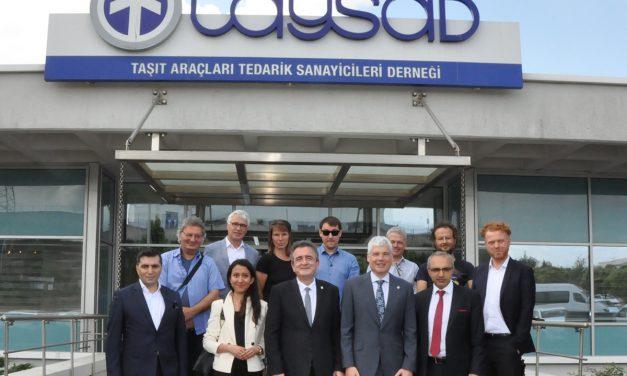 Alman basını Türk otomotiv sektörünü takip etmek için ülkemize geldi