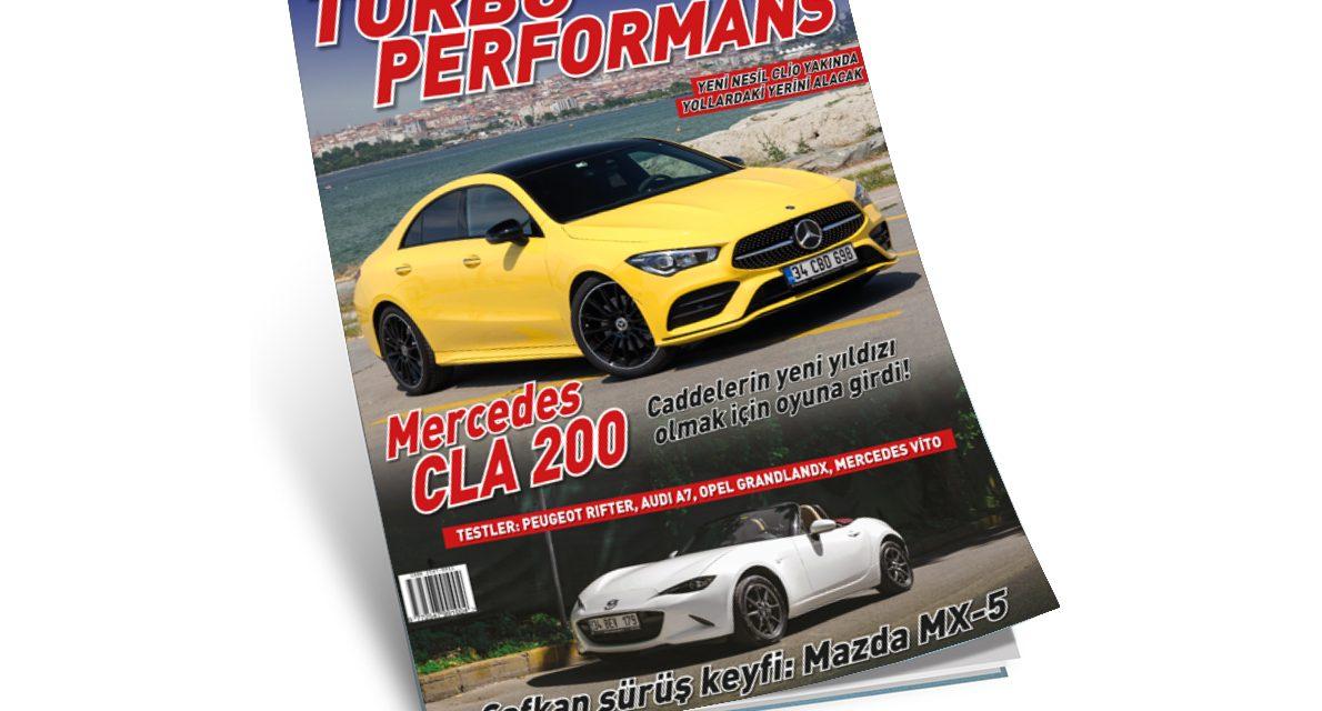 Turbo Performans yaz sayısı hem raflarda hem de yayında