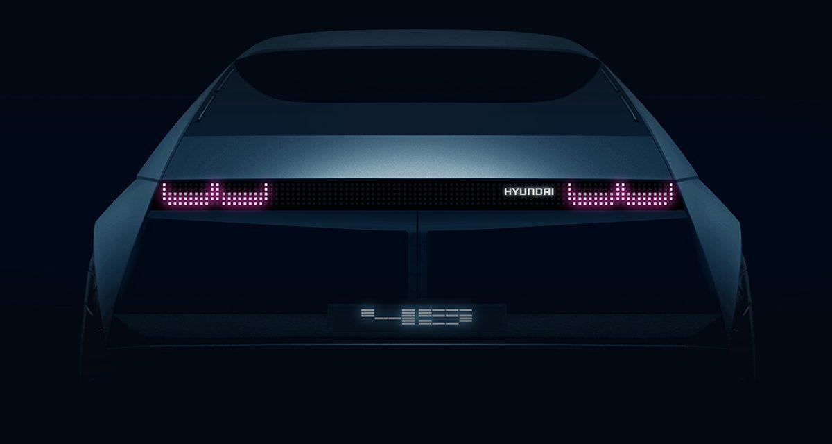 Hyundai'nin yeni elektrikli konsept aracı 45'in çizimler yayınlandı