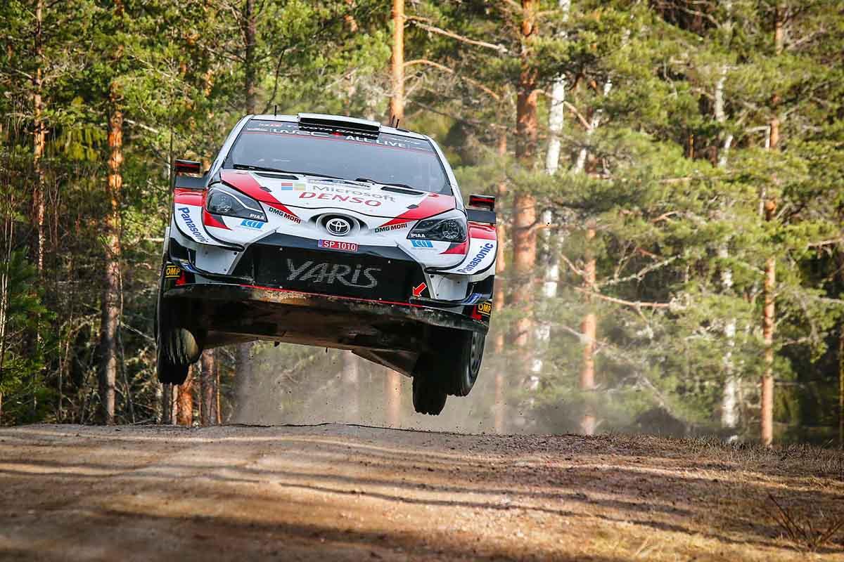 Toyota İsveç Rallisi