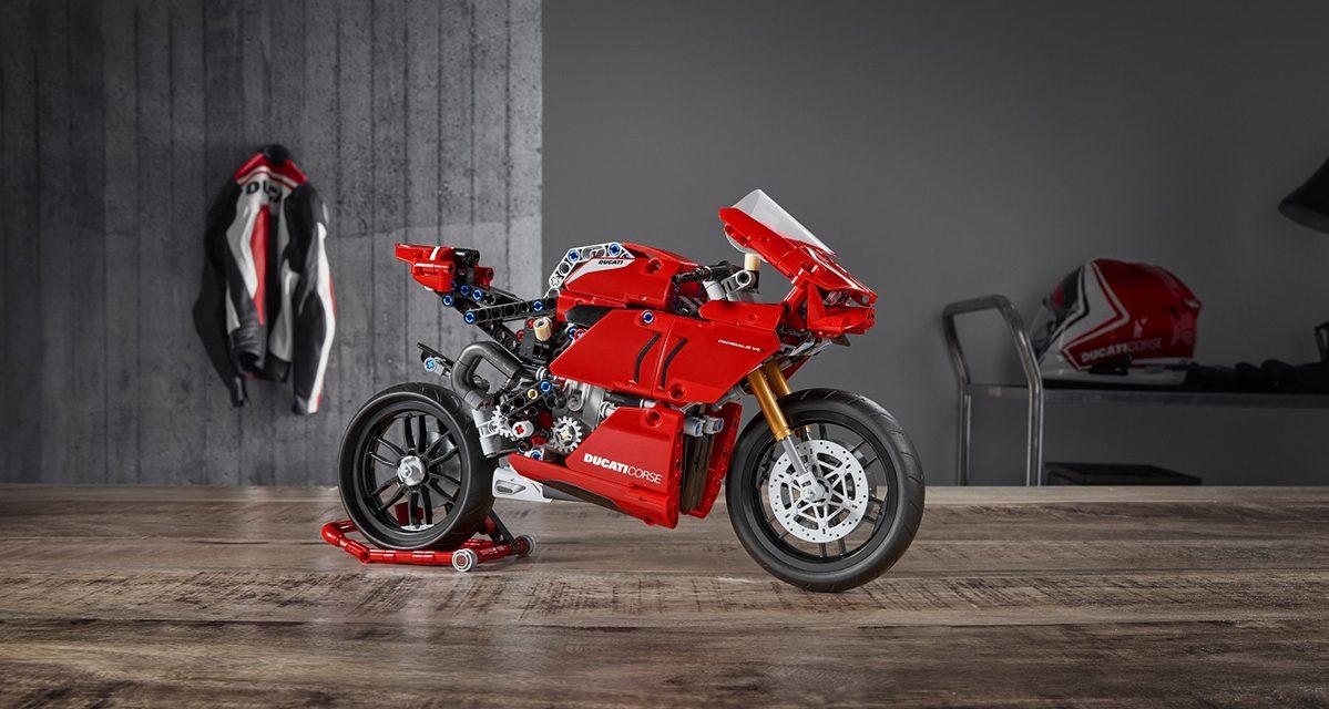 Lego Technic ailesine yeni üye Ducati V4 R