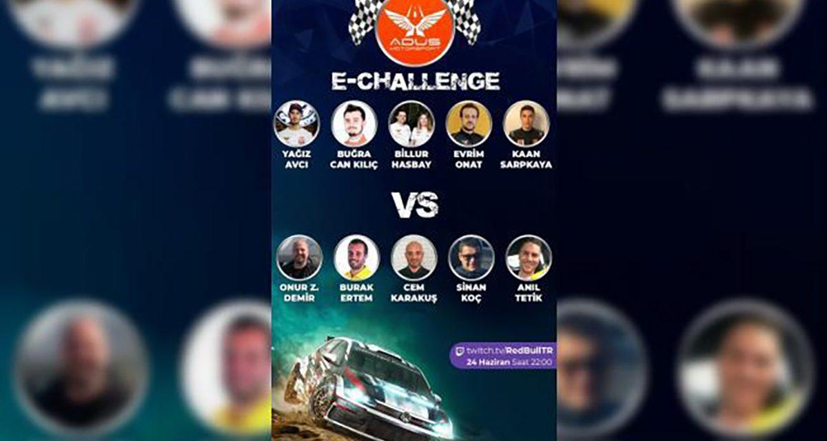 Adus Motorsport e-challenge başlıyor