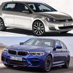 Volkswagen Golf BMW M5'e meydan okuyor