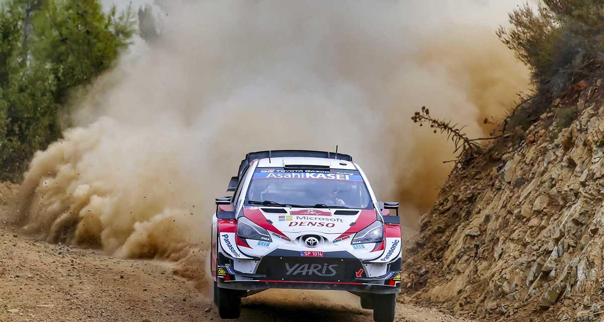 TOYOTA GAZOO Racing'den WRC Türkiye'de çifte zafer