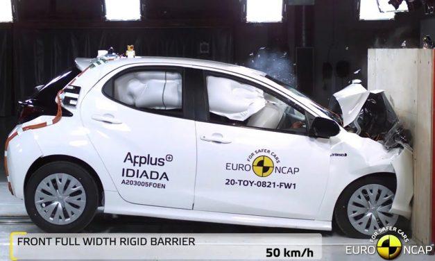 Toyota Yaris, Euro NCAP çarpışma testinden 5 yıldız almayı başardı