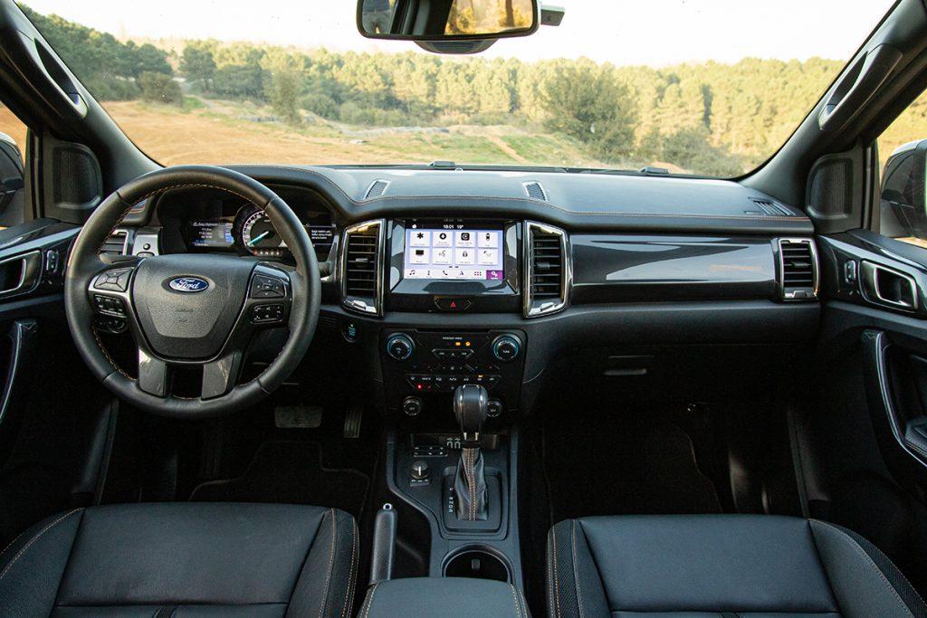 Ford Ranger test