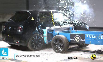 Honda'nın ilk elektrikli modeli çarpışma testinde