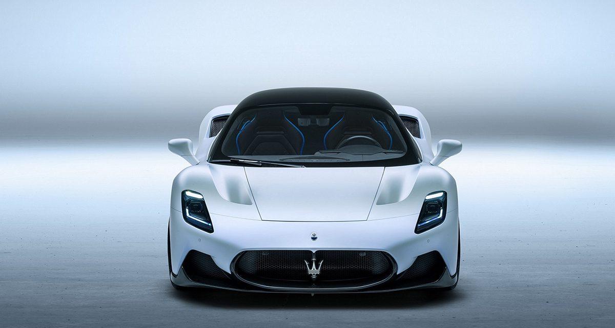 Maserati MC20'nin güzelliği tescillendi
