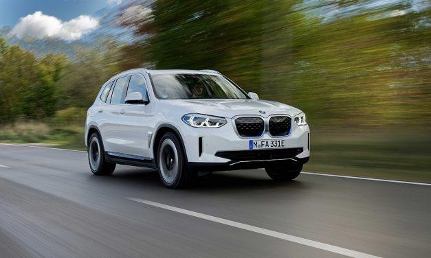 Elektrikli BMW iX3 870.000 TL'den ülkemize geliyor