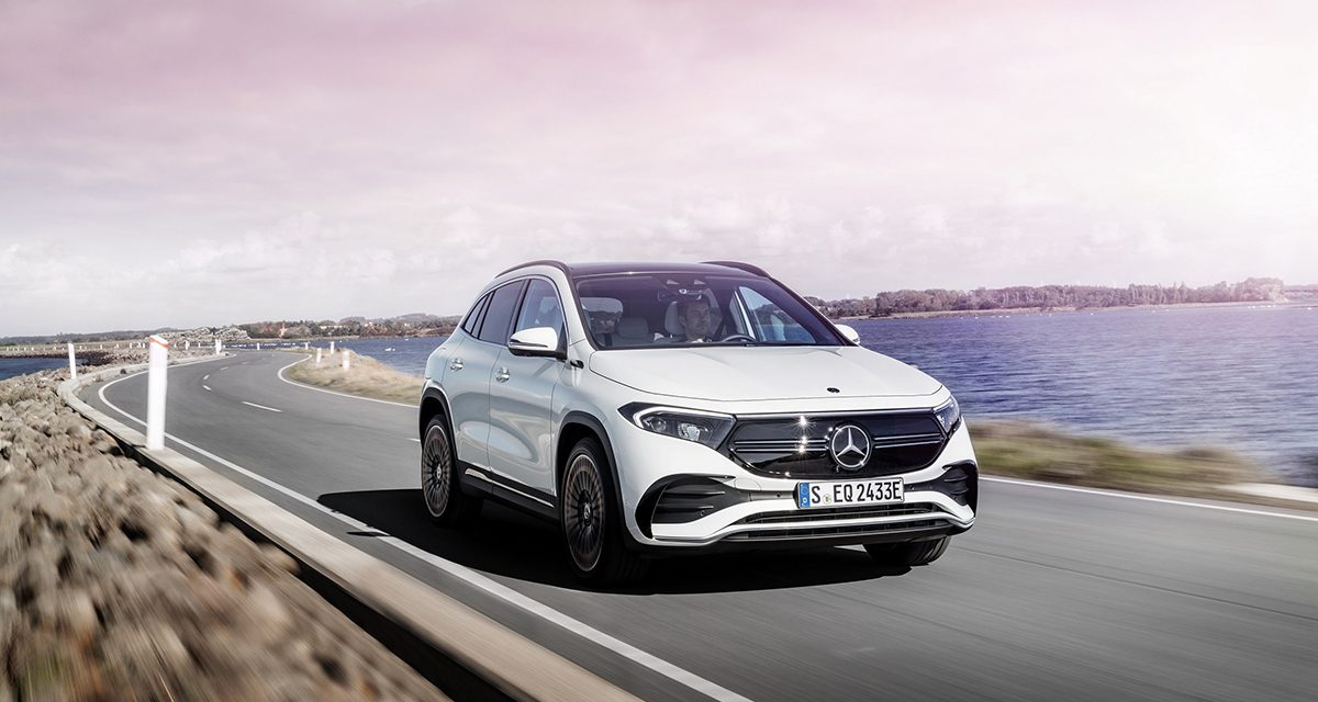 Mercedes EQ ailesine yeni üyesi EQA