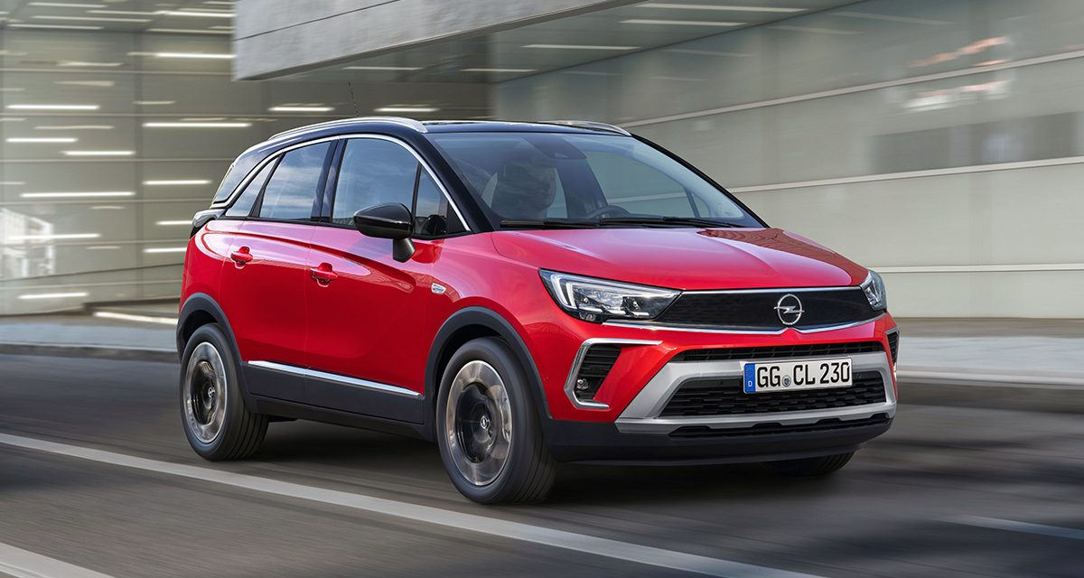 Yeni Opel Crossland 216 bin TL'den satışta