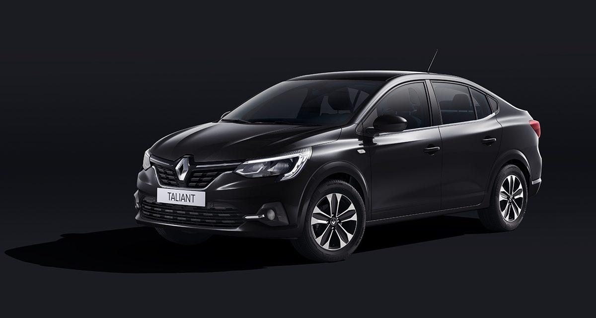 Renault'un Symbol yerine yeni B Sedan modeli Taliant