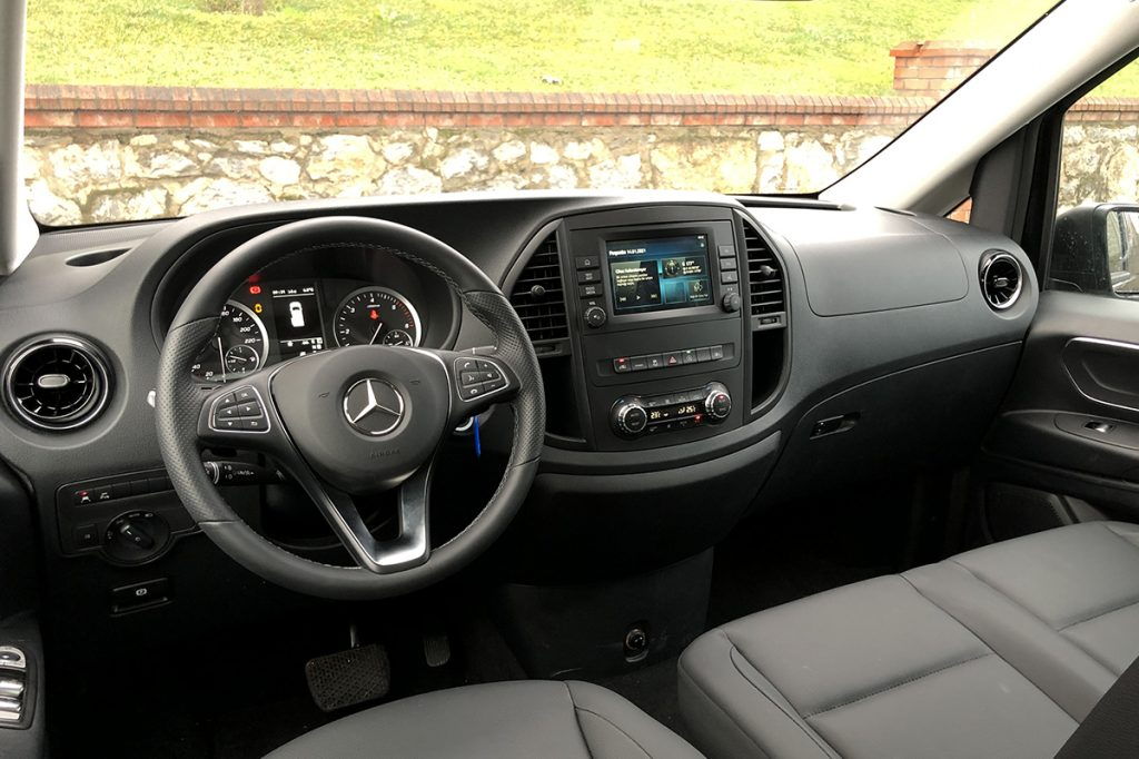 Mercedes Benz Vito 119 test