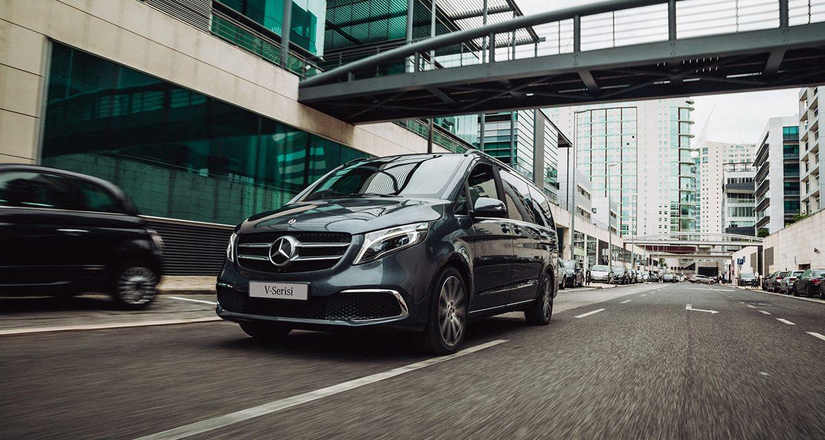 Yeni Mercedes-Benz V-Serisi Türkiye'ye geldi