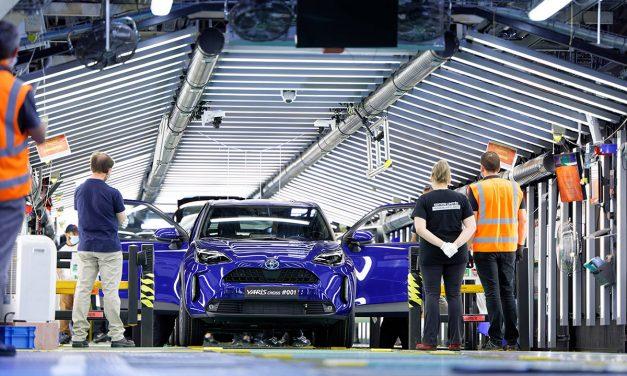 Yeni Toyota Yaris Cross Fransa'da üretilmeye başladı