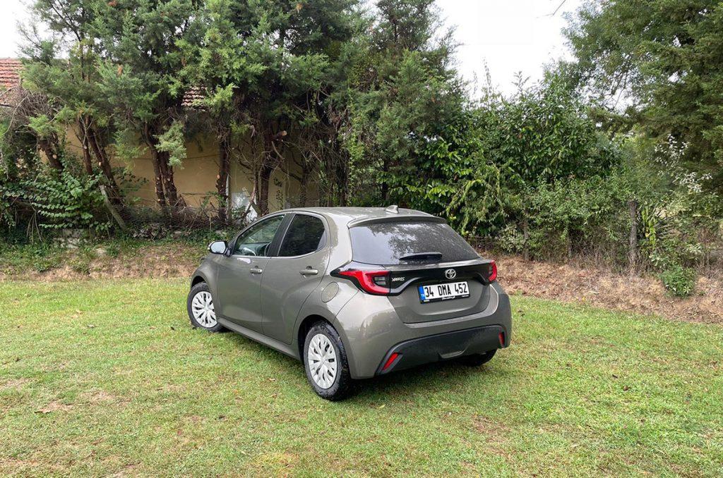 Toyota Yaris test