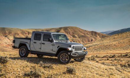 Bu Jeep hem bir pick-up hem de bir SUV