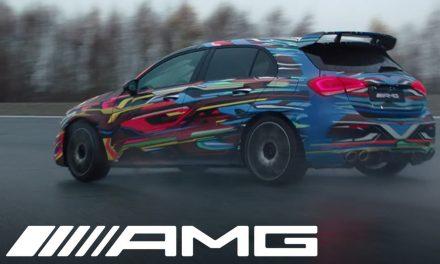 Mercedes A45 AMG Drift Mod teaserı yayınlandı