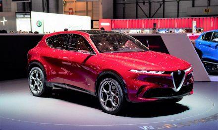 Alfa Romeo Cenevre'de elektrikli SUV sürprizi yaptı
