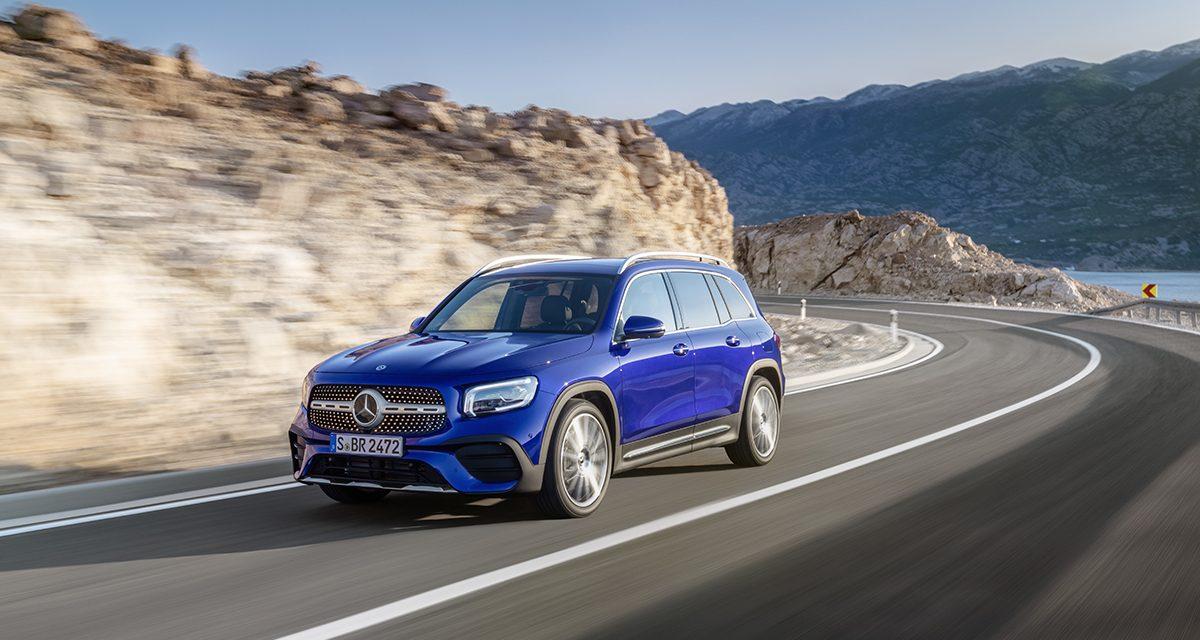 Mercedes yeni GLB modeli ile SUV ailesini genişletti