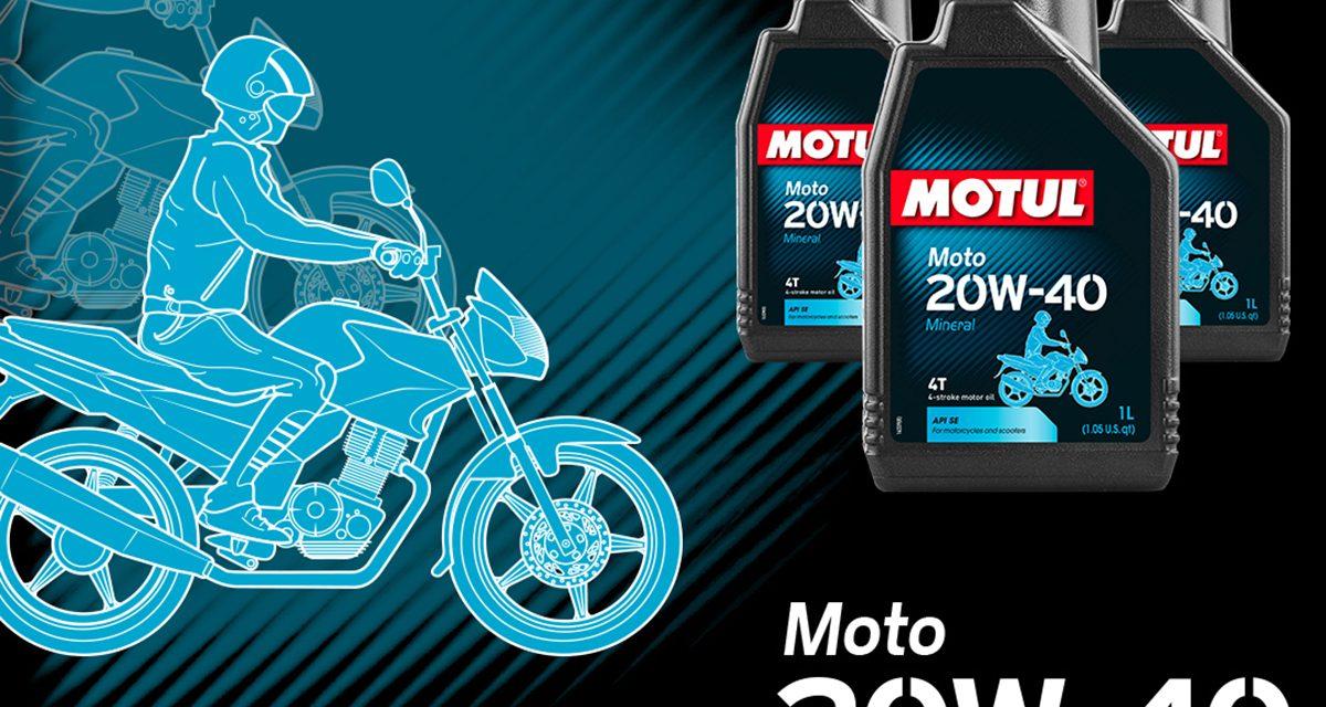 Motosikletinizin performansını Motul ile koruyun