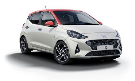 Yerli minik Hyundai i10 üretim bandından indi