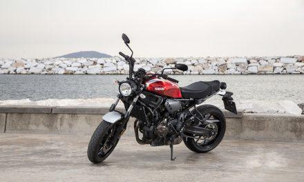 Kafelerden caddelere uzanan hikaye Yamaha XSR700