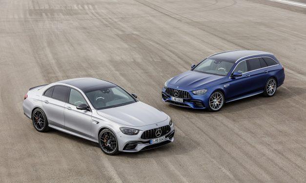 612 beygirlik Mercedes E serisi modelleri tanıtıldı