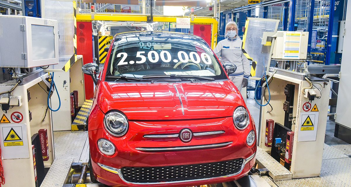 Fiat 500, 2.5 Milyon barajını aştı
