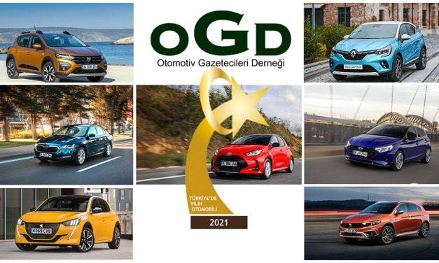 2021 Türkiye'de Yılın Otomobili finalistleri belli oldu