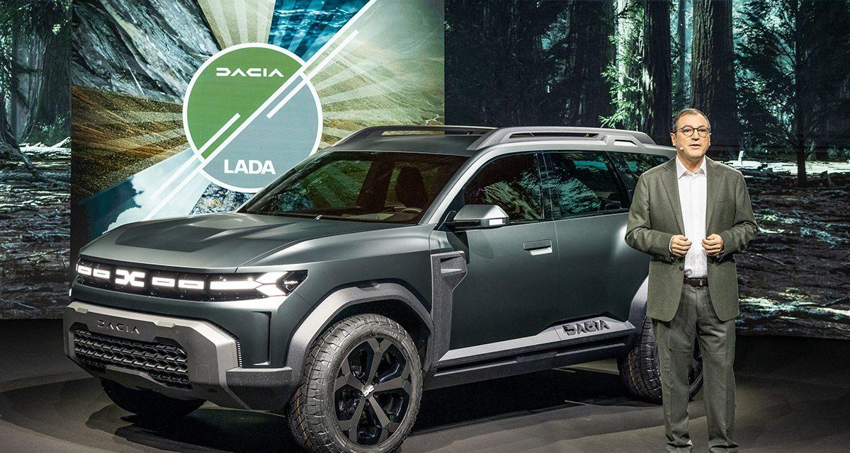 Dacia geleceğe yönelik büyük düşünüyor